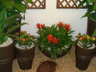 Jardines de invierno de estilo rústico de SEJA COMO FLOR DECOR Rústico