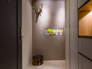 Corridor & hallway by 楊允幀空間設計,