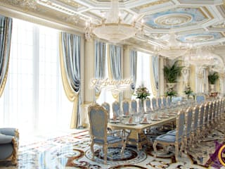 ​The art of interior design from Katrina Antonovich: classic Dining room by Luxury Antonovich Design