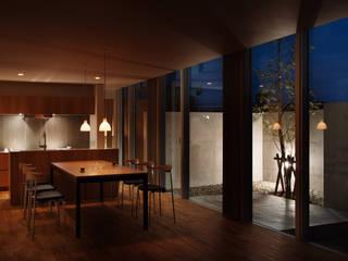 k住宅 2016.1 モダンデザインの リビング の 株式会社久住建築設計事務所 モダン