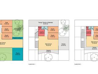 Casa do Cedro por Maia e Moura Arquitectura Moderno