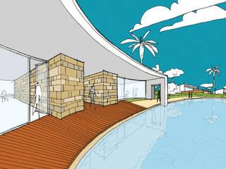 Zona comercial:   por Maia e Moura Arquitectura