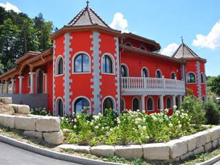 Pietre di Rapolano リゾートハウス 赤色