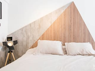 Bedroom by estudio  M,