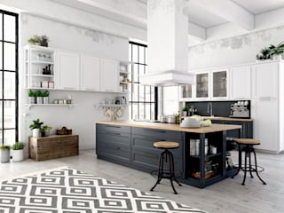 Kelim Carpe Diem in Küche: moderne Küche von Nain Trading GmbH