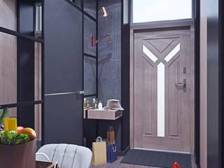 Таунхаус в КП Кембридж, 225 кв.м.: Коридор и прихожая в . Автор – Loft&Home