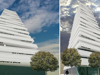 Torre das Letras por Maia e Moura Arquitectura Eclético