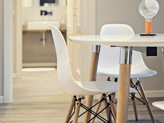 Studio Tecnico Magenis Professionisti Associati Living roomStools & chairs Wood White
