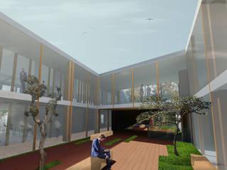 Amorim Cork Composits:  industrial por Maia e Moura Arquitectura,Industrial
