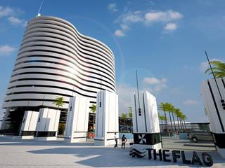 The Flag Complex por Maia e Moura Arquitectura Moderno