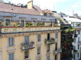 ADIdesign* studio Balcon, Veranda & Terrasse classiques