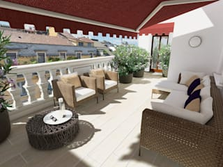 ADIdesign* studio Balconies, verandas & terraces Furniture