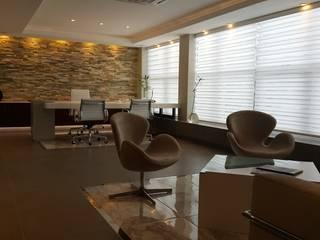 Te gusta esta oficina C.E.O.? Estudios y oficinas modernos de Estudio Palombo Moderno