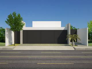 Casa FMarrufo de Contempo MX arquitectos Minimalista