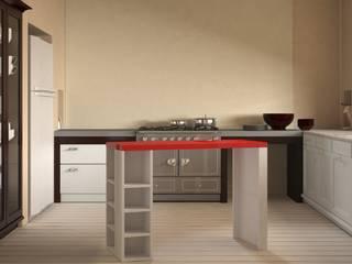 Rediseño de cocina y confección de mobiliario:  de estilo  por MyF Diseño