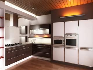 Rediseño de cocina, diseño y confección de mobiliario:  de estilo  por MyF Diseño