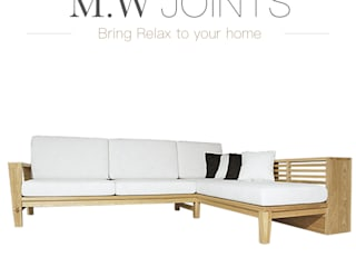 M.W JOINTS |罕氏家居 Living roomSofas & armchairs Solid Wood