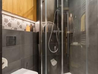 Apartament soft loft Nowoczesna łazienka od ZAWICKA-ID Projektowanie wnętrz Nowoczesny