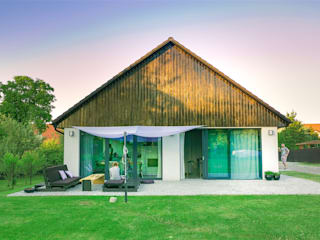 Dom Stodoła - Stodom(a): styl , w kategorii Dom jednorodzinny zaprojektowany przez FAAR architekci