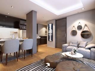 S Block Condominium 2 - Two Bedroom type :   by reinforcedarchitect