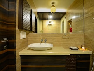 Fourth Axis Designs Asian style bathroom