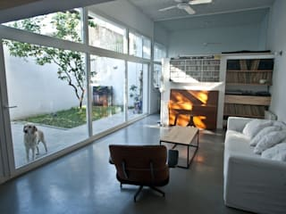 PH 14 de Julio Livings modernos: Ideas, imágenes y decoración de Paula Mariasch - Juana Grichener - Iris Grosserohde Arquitectura Moderno