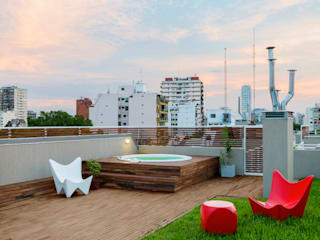 Edificio Arts e Lofts de Paula Mariasch - Juana Grichener - Iris Grosserohde Arquitectura Moderno