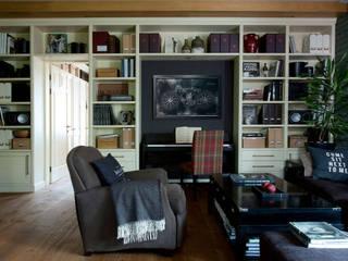 Квартира на Таганке: Гостиная в . Автор – SumburBuro