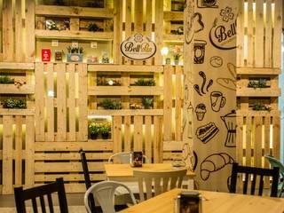 Cafetería & Pastelería BellPan:  de estilo  de Pablo Ramos Baldi