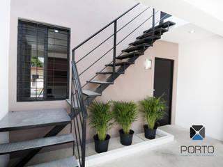 PORTO Arquitectura + Diseño de Interiores Casas de estilo minimalista