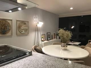 Departamento en CDMX:  de estilo  por Home Reface - Diseño Interior CDMX