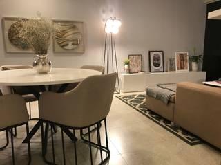 Espacio social :  de estilo  por Home Reface - Diseño Interior CDMX