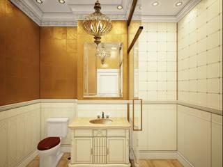 Дизайн интерьера Ванная в классическом стиле от Атриа Студия Классический