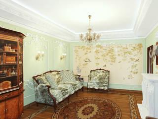 Дизайн интерьера Гостиная в классическом стиле от Атриа Студия Классический