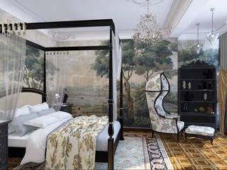 Дизайн интерьера Спальня в классическом стиле от Атриа Студия Классический