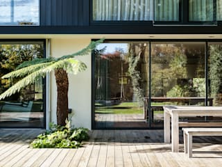 Boyle Farm Concept Eight Architects Glass doors