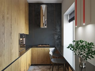Eclectic style kitchen by ДОМ СОЛНЦА Eclectic