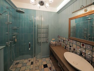 Baños de estilo rural de ООО' А2про' Rural