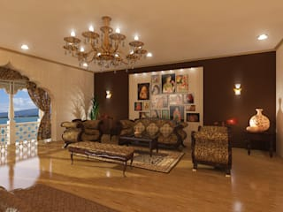 Marvin Mahal, Hotel Classic style bedroom by Ravi Prakash Architect Classic