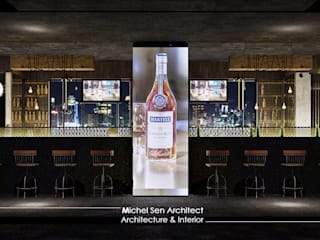 21STUDIO - Cafe & Bar Lounge @Golden Boutique Hotel Bar & Klub Gaya Industrial Oleh Michel Sen Architect Industrial