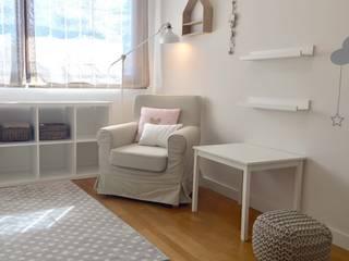 Dormitorios infantiles de estilo escandinavo por Noelia Villalba
