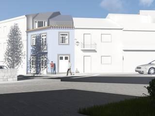 Casa HF: Moradias  por Helena Faria Arquitectura e Design