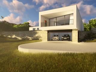Casa GC: Casas unifamilares  por Helena Faria Arquitectura e Design