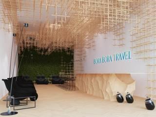 Bora bora travel: Коммерческие помещения в . Автор – Архитектурное бюро Materia174, Классический