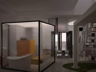 Showroom espositivo:  in stile  di Simone Fratta Architetto