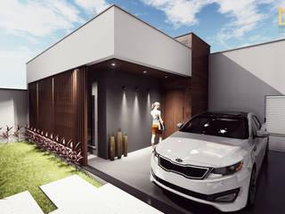 Modern Houses by Miragem Arquitetura e Engenharia Modern