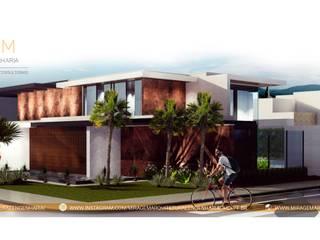 Miragem Arquitetura e Engenharia Casas modernas por Miragem Arquitetura e Engenharia Moderno