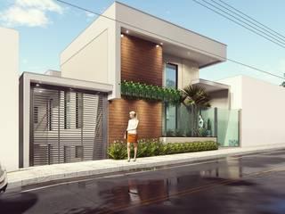 Estudo de Projeto R3 | Arquitetura Contemporânea Casas modernas por Miragem Arquitetura e Engenharia Moderno