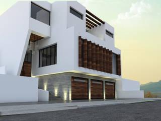 Residencia CBJ: Casas de estilo  por SPACIO DISEÑO Y CONSTRUCCION