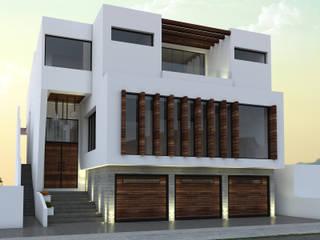 Residencia CBJ: Casas unifamiliares de estilo  por SPACIO DISEÑO Y CONSTRUCCION